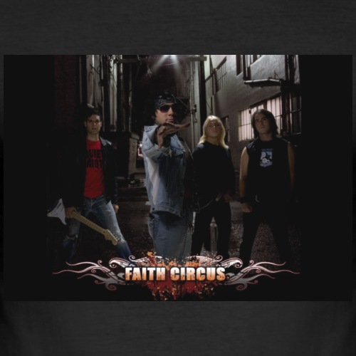 FAITH CIRCUS - Men's Slim Fit T-Shirt