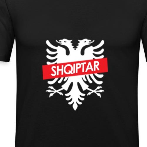 SHQIPTAR BY EGZON HYSENI - Männer Slim Fit T-Shirt