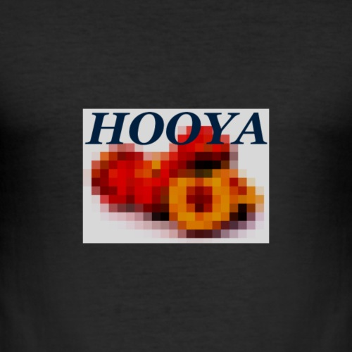 HOOYA Peach - T-shirt près du corps Homme