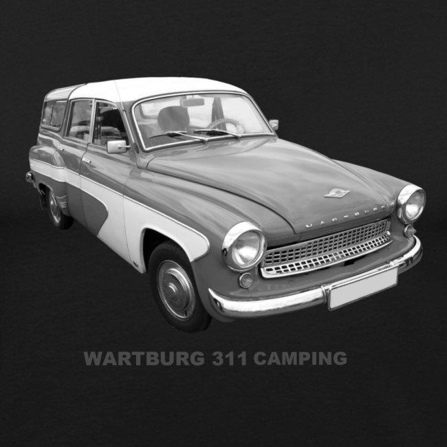 Wartburg 311 Camping DDR AWE Eisenach