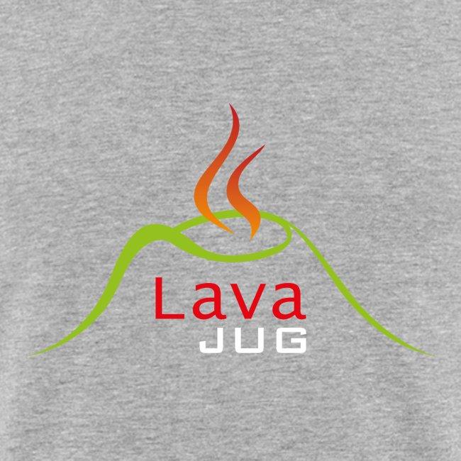 logo lavajug white