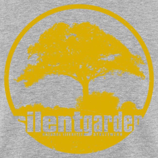 hiljainen puutarha (keltainen oldstyle)