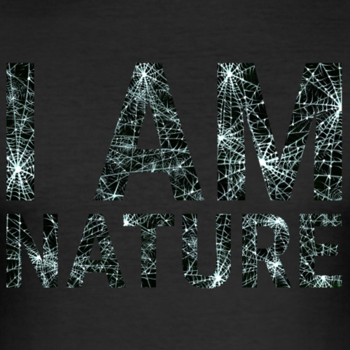 I am Nature - Men's Slim Fit T-Shirt