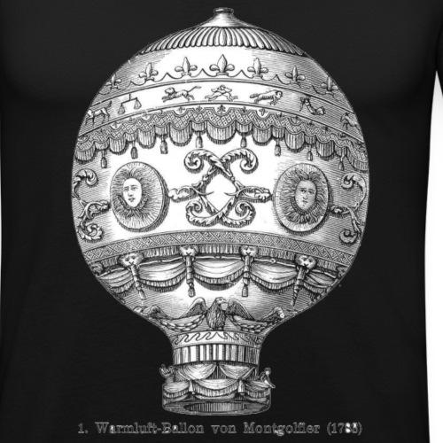 wmongolfier png - T-shirt près du corps Homme