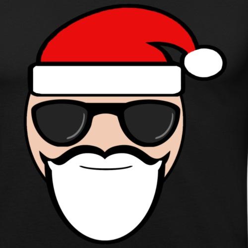 Coole kerstman - Mannen slim fit T-shirt