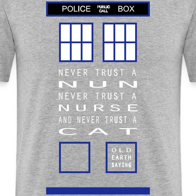 Doctor Who Nun Nurse Cat