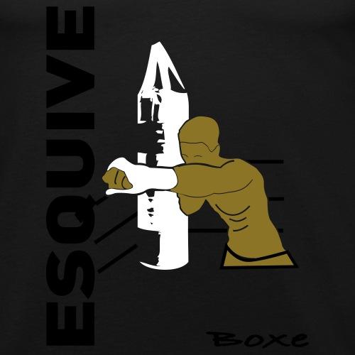 esquive_sac - T-shirt près du corps Homme