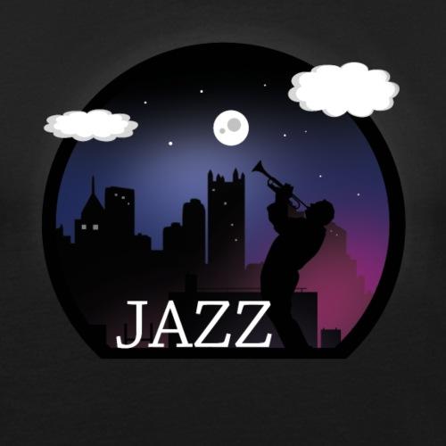 jazz vector - Men's Slim Fit T-Shirt
