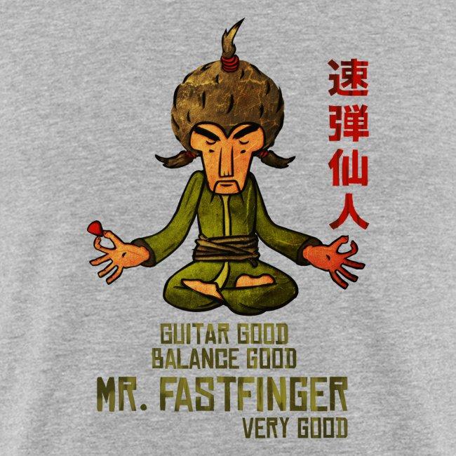 Mr. Fastfinger - cartoon guitar hero