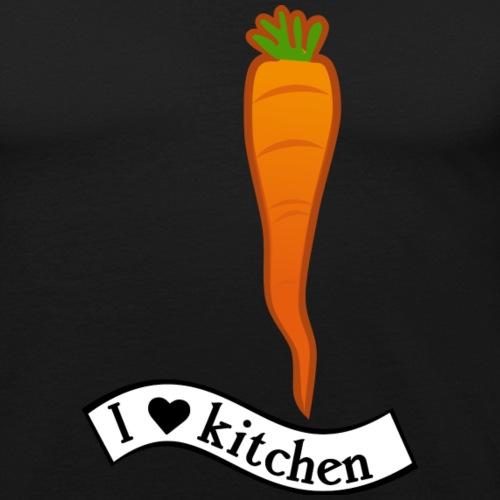 ilovekitchen-ts-2 - T-shirt près du corps Homme