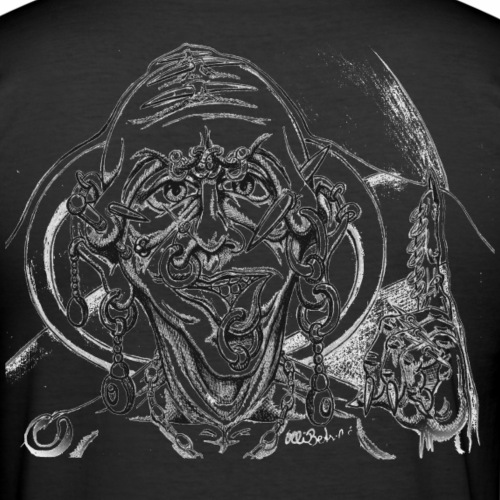 Pierceman - Männer Slim Fit T-Shirt