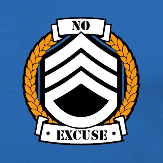 No excuse logo jaune png