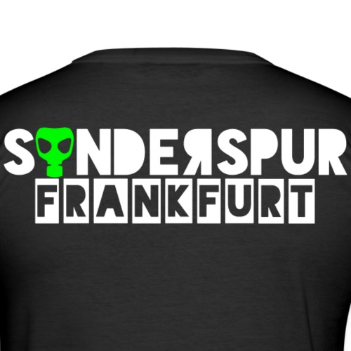 Sonderspur Frankfurt - Männer Slim Fit T-Shirt