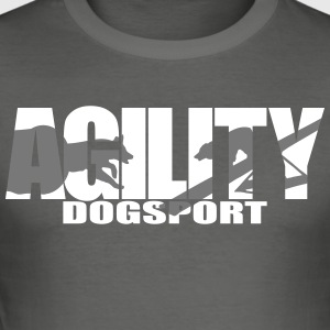 Agility 3 - Herre Slim Fit T-Shirt