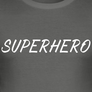 SUPERHERO - Slim Fit T-skjorte for menn
