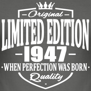 Limited edition 1947 - Männer Slim Fit T-Shirt