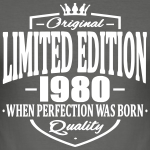 Limited edition 1980 - Men's Slim Fit T-Shirt