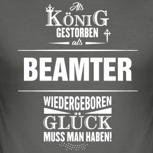 BEAMTER - Männer Slim Fit T-Shirt