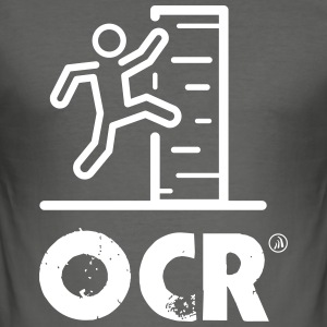 OCR - obstacle course - Men's Slim Fit T-Shirt