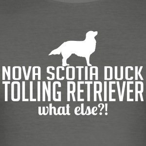 Nova Scotia Duck Tolling Retriever what else - Men's Slim Fit T-Shirt