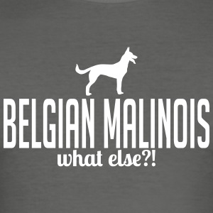 Malinois whatelse - Tee shirt près du corps Homme