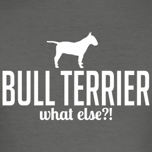 BULL TERRIER whatelse - Slim Fit T-skjorte for menn