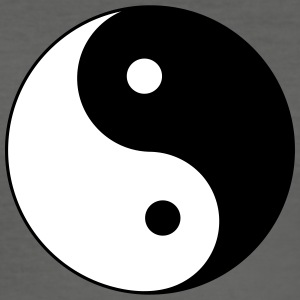 yin yang - Slim Fit T-shirt herr