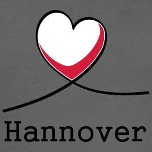 I love Hannover! - Men's Slim Fit T-Shirt