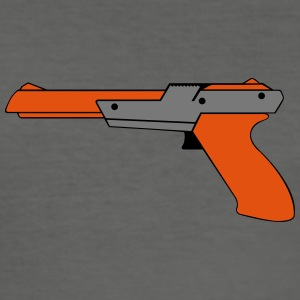 Nintend pistol NES ZAPPER Duck Hunt BROS SUPER - Slim Fit T-shirt herr