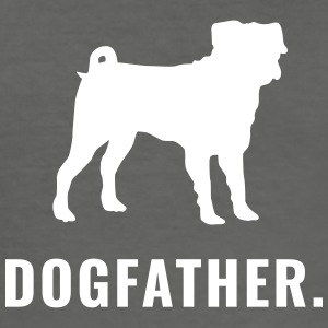 Mops - Dogfather - Männer Slim Fit T-Shirt