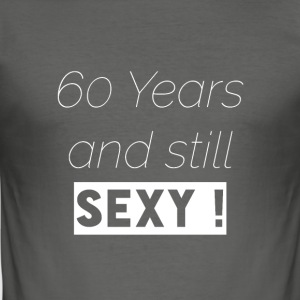 60-årsdag - Slim Fit T-shirt herr