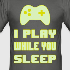 Gamers do not Sleep - Men's Slim Fit T-Shirt