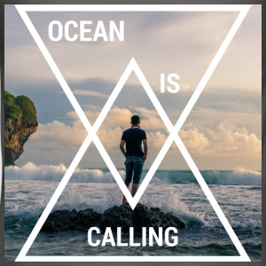 Ocean is calling! - Men's Slim Fit T-Shirt