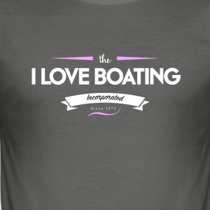 boating_logo_6 - Tee shirt près du corps Homme