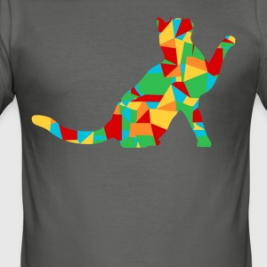 veelhoek cat - slim fit T-shirt