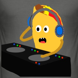 DJ Taco - Men's Slim Fit T-Shirt