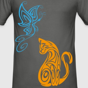 Beauty Animal - Animal Beauty - Men's Slim Fit T-Shirt