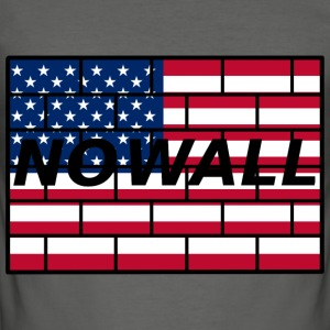 no wall - Men's Slim Fit T-Shirt