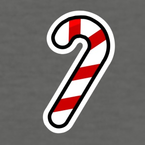 Candy Cane - Men's Slim Fit T-Shirt