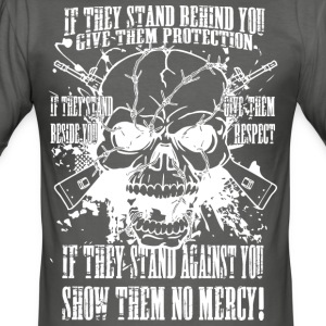 Show them no mercy (light) - Men's Slim Fit T-Shirt