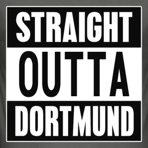 Straight Outta Dortmund - Herre Slim Fit T-Shirt