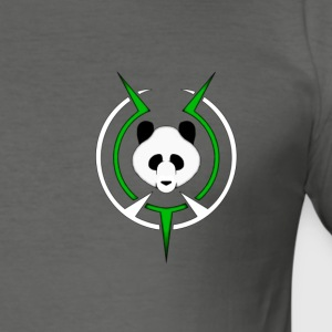 panda - Slim Fit T-skjorte for menn
