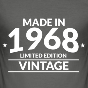 Made in 1968 - Limited Edition - Vintage - Männer Slim Fit T-Shirt