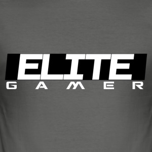 ELITE GAMER von Juiceman Benji Gaming - Männer Slim Fit T-Shirt