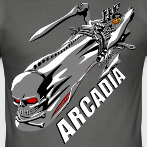Arcadia - Men's Slim Fit T-Shirt