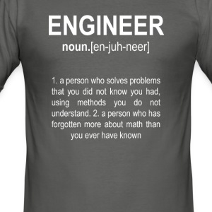 """Engineer"" Def. 2 - Slim Fit T-skjorte for menn"