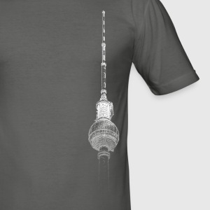 Around The World: Tour TV - Berlin - Tee shirt près du corps Homme