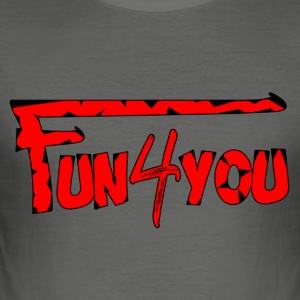 Fun4You - Tee shirt près du corps Homme