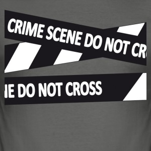 Crimescene - Men's Slim Fit T-Shirt