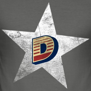 Vintage Star D - Men's Slim Fit T-Shirt